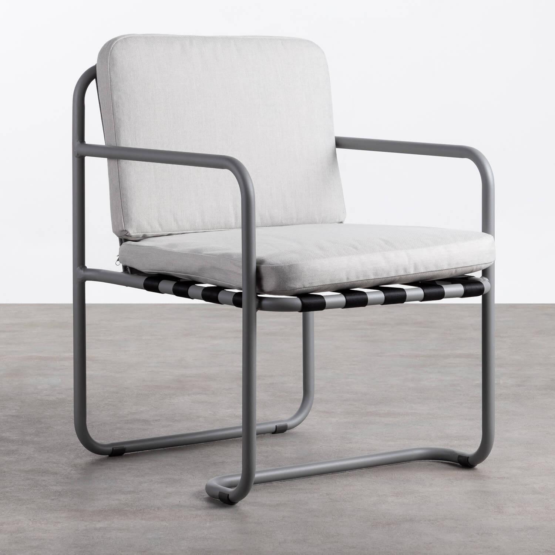 Chaise d'Extérieur en Aluminium et Tissu Paradise, image de la gelerie 1