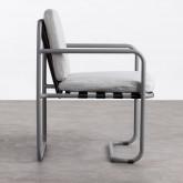 Chaise d'Extérieur en Aluminium et Tissu Paradise, image miniature 3