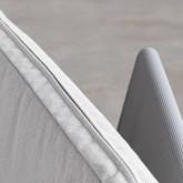 Chaise d'Extérieur en Aluminium et Tissu Paradise, image miniature 5