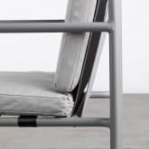 Chaise d'Extérieur en Aluminium et Tissu Paradise, image miniature 6