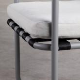Chaise d'Extérieur en Aluminium et Tissu Paradise, image miniature 7