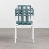 Chaise d'Extérieur en Aluminium et Tissu Alorn , image miniature 4
