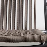 Chaise d'Extérieur avec accoudoirs en Aluminium et Tissu Alorn, image miniature 5