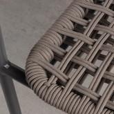 Chaise d'Extérieur avec accoudoirs en Aluminium et Tissu Alorn, image miniature 7
