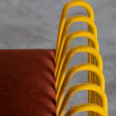 Chaise d'Extérieur en Tissu et Métal Bali, image miniature 7