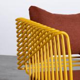 Chaise d'Extérieur en Tissu et Métal Bali, image miniature 9