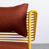 Chaise d'Extérieur en Tissu et Métal Bali, image miniature 10