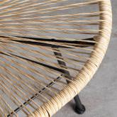 Chaise d'Extérieur en Polyéthylène et Acier Copacabana Twist, image miniature 5