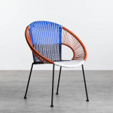 Chaise d'Extérieur en Rotin et Acier Neo, image miniature 1
