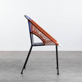 Chaise d'Extérieur en Rotin et Acier Neo, image miniature 3