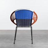 Chaise d'Extérieur en Rotin et Acier Neo, image miniature 4