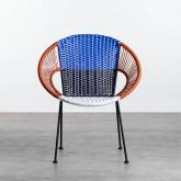 Chaise d'Extérieur en Rotin et Acier Neo, image miniature 5