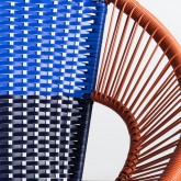 Chaise d'Extérieur en Rotin et Acier Neo, image miniature 10