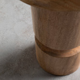 Tabouret Bas en Bois Blaki (46 cm), image miniature 3