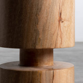 Tabouret Bas en Bois Blaki (46 cm), image miniature 5