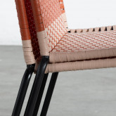 Chaise d'Extérieur en Rotin et Acier Orag, image miniature 11