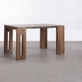 Table de Salle à manger Extensible en MDF (45-180x90 cm) Ville, image miniature 8