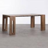 Table de Salle à manger Extensible en MDF (45-180x90 cm) Ville, image miniature 1