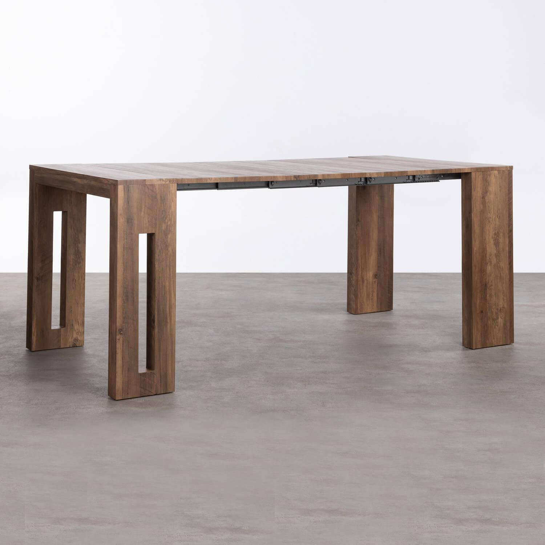 Table de Salle à manger Extensible en MDF (45-180x90 cm) Ville, image de la gelerie 1