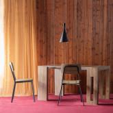 Table de Salle à manger Extensible en MDF (45-180x90 cm) Ville, image miniature 3