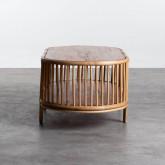 Table Basse Ovale en Rotin (110x60 cm) Tahiti, image miniature 3