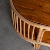 Table Basse Ovale en Rotin (110x60 cm) Tahiti, image miniature 5