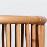 Table Basse Ovale en Rotin (110x60 cm) Tahiti, image miniature 7
