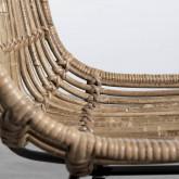 Chaise de Salle à manger en Rotin Naturel Nice, image miniature 7