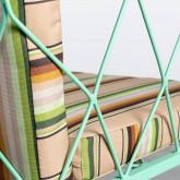 Chaise d'Extérieur en Acier et Tissu Sagax, image miniature 7