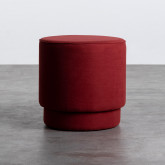 Pouf Rond en Tissu Runor, image miniature 1