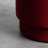 Pouf Rond en Tissu Runor, image miniature 3