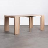 Table de Salle à manger Extensible en MDF (45,5-180,5x90 cm) GUEST Rustic, image miniature 5
