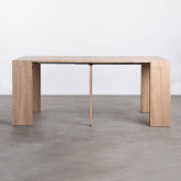 Table de Salle à manger Extensible en MDF (45,5-180,5x90 cm) GUEST Rustic, image miniature 7