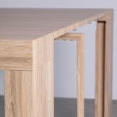 Table de Salle à manger Extensible en MDF (45,5-180,5x90 cm) GUEST Rustic, image miniature 8