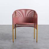 Chaise d'Extérieur en Rotin et Acier Orka, image miniature 5