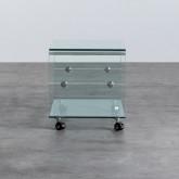 Table Basse Rectangulaire en Verre (60x40 cm) Rolcras, image miniature 3