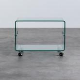 Table Basse Rectangulaire en Verre (60x40 cm) Rolcras, image miniature 4