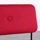 Chaise de Salle à manger en Tissu et Acier Boma, image miniature 4