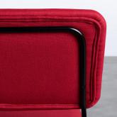 Chaise de Salle à manger en Tissu et Acier Boma, image miniature 5
