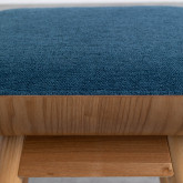 Tabouret Bas en Tissu Tika (42 cm), image miniature 5