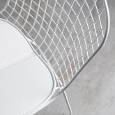 Chaise de Salle à manger en Acier Amber Edición Blanco, image miniature 4