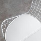 Chaise de Salle à manger en Acier Amber Edición Blanco, image miniature 5