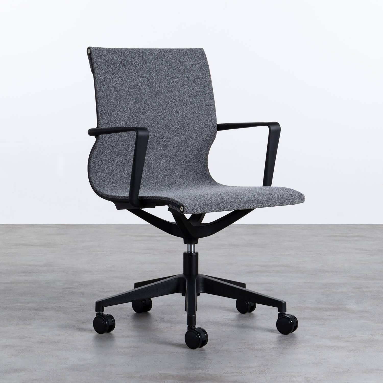 Chaise de Bureau à Roulettes et Réglable Mid Back Jones, image de la gelerie 1