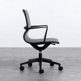 Chaise de Bureau à Roulettes et Réglable Mid Back Jones, image miniature 4