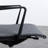 Chaise de Bureau à Roulettes et Réglable Mid Back Jones, image miniature 7