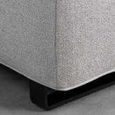 Canapé d'angle à Gauche 4 Places en Tissu Vogle, image miniature 5