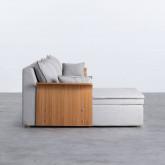 Canapé-lit avec angle à gauche 3 Places en Tissu Nato, image miniature 6