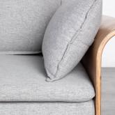 Canapé-lit avec angle à gauche 3 Places en Tissu Nato, image miniature 8