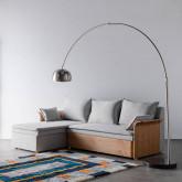 Canapé-lit avec angle à gauche 3 Places en Tissu Nato, image miniature 2