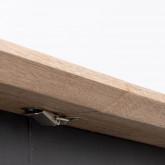 Table de Salle à manger Extensible en MDF et Métal (160-200x90 cm) Arbo, image miniature 10